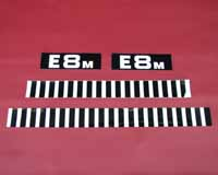 Side body decal set (E8M)